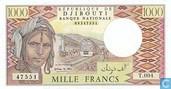 francs Djibouti 1000
