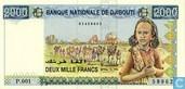 Djibouti 2000 Francs