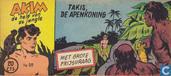 Strips - Akim - Takis, de apenkoning