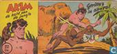 Strips - Akim - Gorilla's in aanval