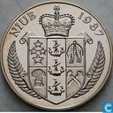 """Niue 5 Dollar 1987 """"Steffi Graf - 1988 Olympics - Seoul"""""""