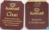 Tea bags and Tea labels - Alnatura -  3 Chai Tee