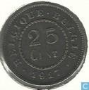 België 25 centimes 1917