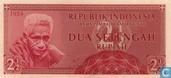 Indonésie 2½ Rupiah 1954