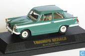 Triumph Herald - Green. Lledo Show Gaydon 1996