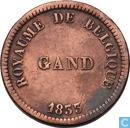 België 25 centimes 1833 Monnaie Fictive, Gent