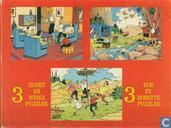 3 Suske en Wiske puzzles / 3 Bob et Bobette puzzles