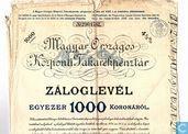 Magyar Orszagos Kozponti Takarekpenztar, Pandbrief 1000 kronen, 1910