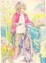 Meisje naast fiets (16.0279)