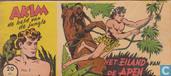 Comics - Akim - Het eiland van de apen