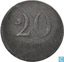 "20 cents 1825 ""Gend"""
