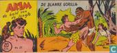 Comics - Akim - De blanke gorilla