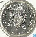 "Vaticaan 500 lire 1978 ""First 1978 Sede Vacante"""