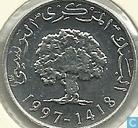 Tunesië 5 millimes 1997