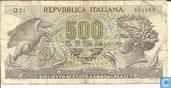 Italie 500 lires