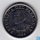"Paraguay 10 guaranies 1984 ""F.A.O."""