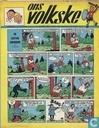 Bandes dessinées - Ons Volkske (tijdschrift) - 1960 nummer  4