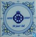 ANWB 50 jaar lid 1955 - 2005