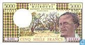 Djibouti Francs 5000
