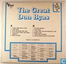 Disques vinyl et CD - Byas, Don - The Great Don Byas