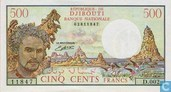 500 Djibouti francs