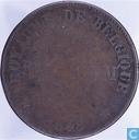 België 25 centimes 1848 Monnaie Fictive, Reckheim