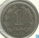 Argentina 1 peso 1959