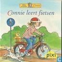 Connie leert fietsen