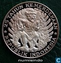 Indonesien 750 Rupiah 1970