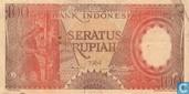 Indonésie 100 Rupiah 1964