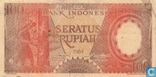 Indonesia 100 Rupiah 1964