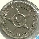 Kuba 5 Centavos 1946