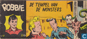 Strips - Robbie - De tempel van de monsters