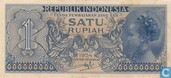 Indonésie 1 Rupiah 1954