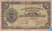 Afrique de l'Ouest français 25 Francs