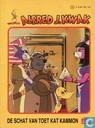 Comics - Alfred Jodocus Kwak - De schat van Toet Kat Kammon