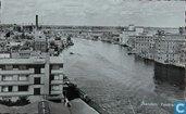 Zaandam - Panorama Achterzaan, Albert Heijn, Verkade, Zaandam
