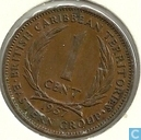 British Caribbean Territories 1 cent 1957