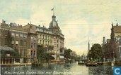 Doelen-Hôtel met Kloveniersburgwal