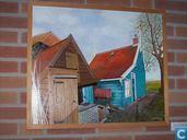 Het vissershuisje van De Vries