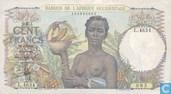 Afrique de l'Ouest français 100 francs