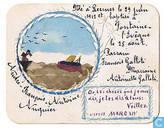 Kaartje Leernes - Fontaine-l'Evèque - André-François-Antoine Auquier