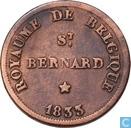 België 5 centimes 1833 Monnaie Fictive, Hermiksem