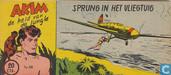 Strips - Akim - Sprung in het vliegtuig