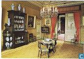 De grote salon in het museum van de Stichting Bisdom van Vliet te Haastrecht