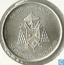 """Vaticaan 500 lire 1978 """"Second 1978 Sede Vacante"""""""