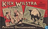 Comic Books - Kick Wilstra - In moeilyke omstandigheden!