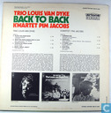 Vinyl records and CDs - Dijk, Louis van - Trio Louis van Dyke Back to back kwartet Pim Jacobs