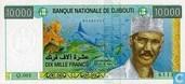 10,000 Djibouti francs