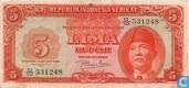 Indonesië 5 Rupiah 1950